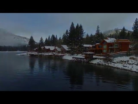 Donner Lake, California - Winter Fog