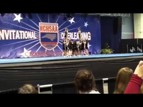 Croatan High School 2014 State Cheerleading Competition