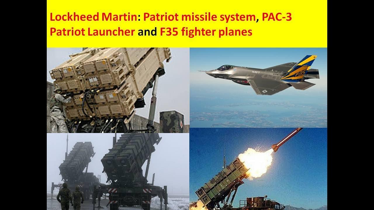S 300 missile systems vs patriot - Lockheed Martin Patriot Missile System Pac 3 Patriot Launcher And F 35 Fighter Planes
