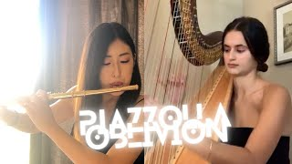 Piazzolla - Oblivion (Flute and Harp)