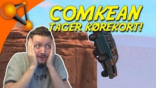 COMKEAN TAGER KØREKORT! - BeamNG Drive Dansk Ep 1