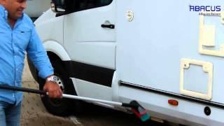 Wohnmobil Reinigung mit TORNADO Hochdruckreiniger (HD-Rreiniger) von Abacus