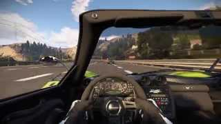 [PC] Project CARS - Pagani Zonda on California Highway  (60fps 1080p)