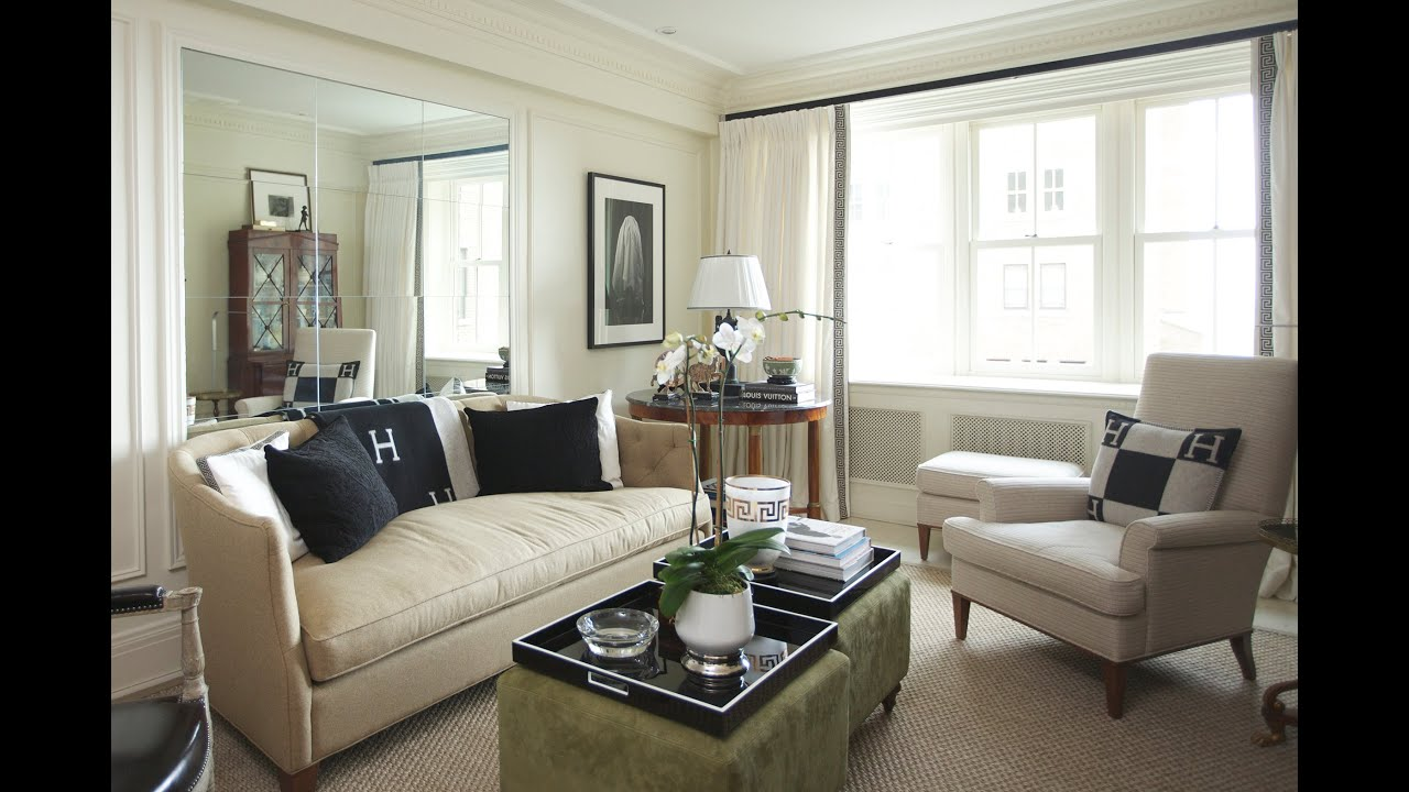 Interior Design — Elegant & Traditionally Designed Small Apartment ...