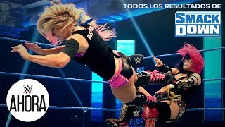 REVIVE SmackDown en 5 minutos: WWE Ahora, Mar 27, 2020