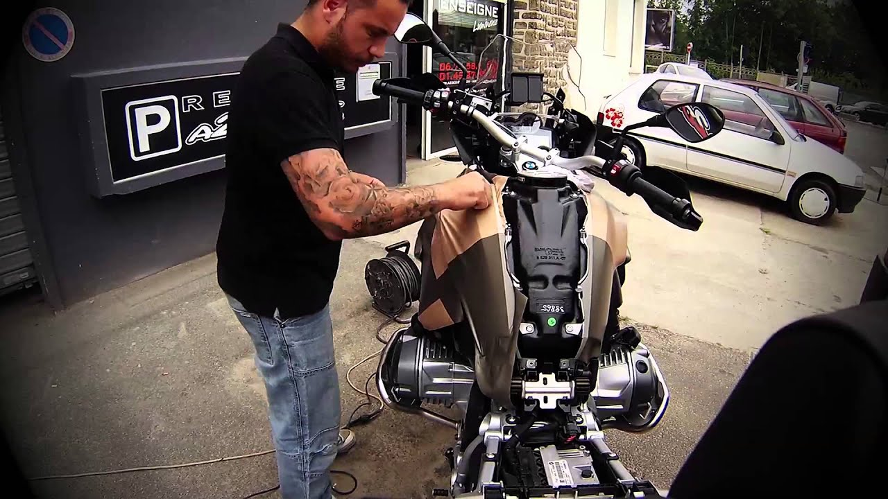 Deco wrapping bmw gs