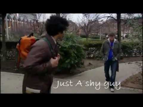just a shy guy lyrics train meet