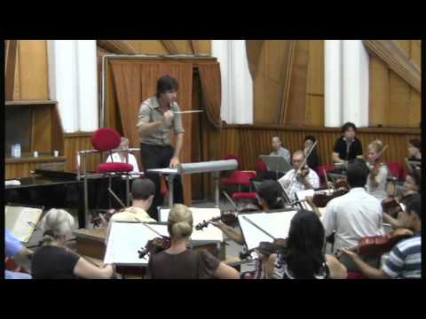 Bucharest Radio Orchestra Beethoven 6 'rehearsel'