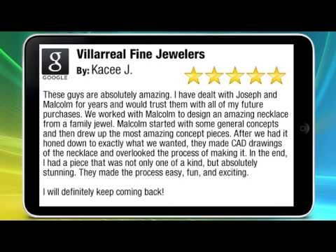 "Villarreal Fine Jewelers Reviews by Kacee J. ""jewelers austin tx 78745"""