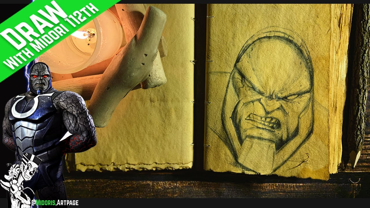 Lets Draw Justice League Darkseid