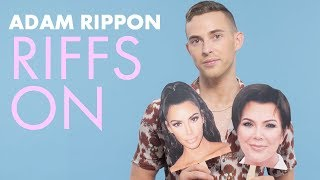 The Kardashians | Adam Rippon Riffs On | Cosmopolitan