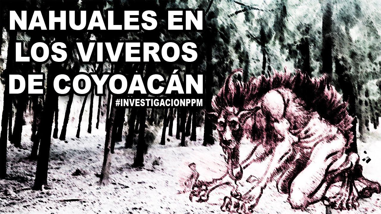 Nahuales en los viveros de coyoac n proyecto paranormal for Viveros coyoacan