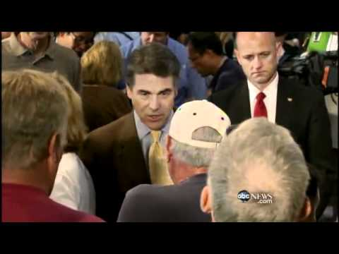 Republican Opponents Take Aim at Rick Perry