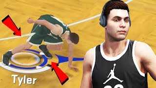 NBA 2K18 My Career Ep.1 - My Ankles Broken | First NBA Game