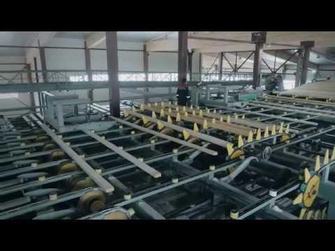 Производство клееного бруса 3 й завод Holz House