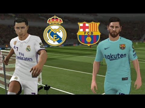 Real Madrid vc Barcelona • Dream League Soccer 2018