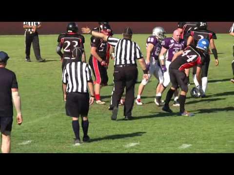 2015 Gridiron SA Round 6: Port Adelaide Spartans vs UniSA Eagles