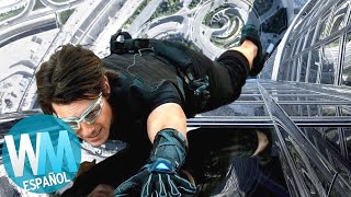 ¡Top 10 ACROBACIAS más LOCAS de Tom Cruise!