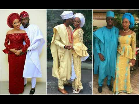 Guarantee The Best Couple Outfits| Latest Ankara And Aso Ebi Styles