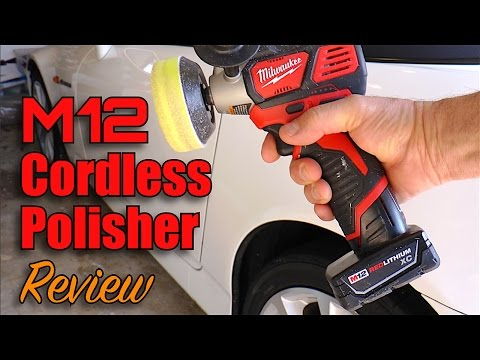 How to Remove Scratches Fast - Milwaukee M12 Cordless Polisher/Sander Review - Part I