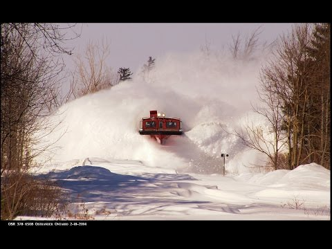 Thumbnail: RAILREEL Best of OSR Snow Plow Spectaculars 12-29-2014