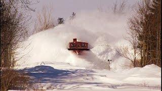 RAILREEL Best of OSR Snow Plow Spectaculars 12-29-2014