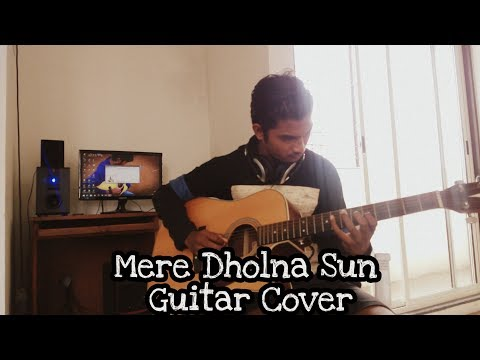 Mere Dholna Sun Sargam On Guitar | Sherya Ghoshal,M G Sreekumar | Bhool Bhulaiya |