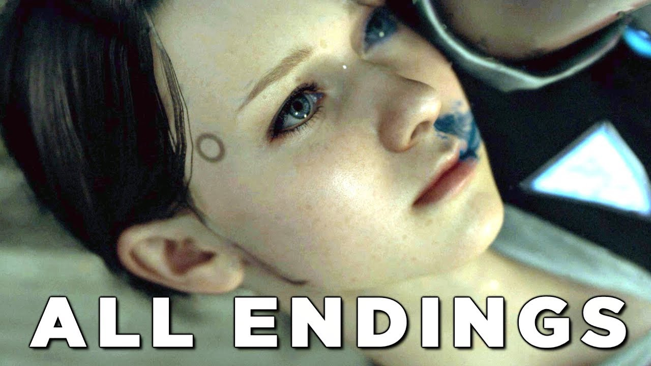 "DETROIT BECOME HUMAN ALL ENDINGS ""STORMY NIGHT"" Walkthrough Gameplay (PS4 Pro)"