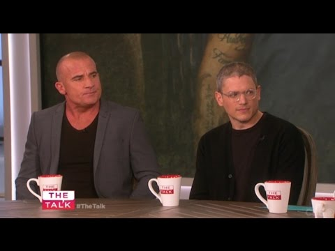 Wentworth Miller & Dominic Purcell on the Talk