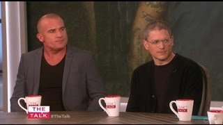 wentworth miller dominic purcell on the talk
