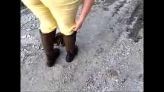 Aigle Bergen im Matsch