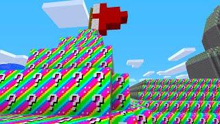 Minecraft 1v1 MARIO CASTLE RAINBOW LUCKY BLOCK BATTLE! (Minecraft Mods)