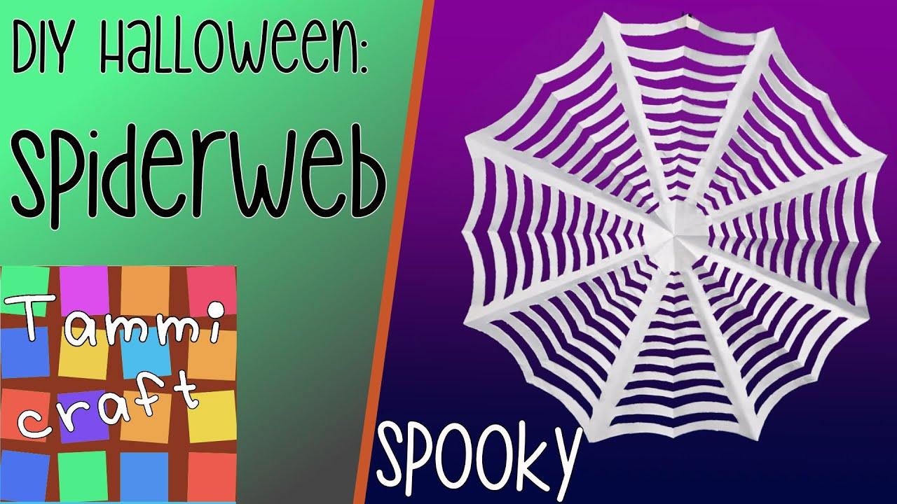 Watch Halloween Craft How-to: Spider Web video