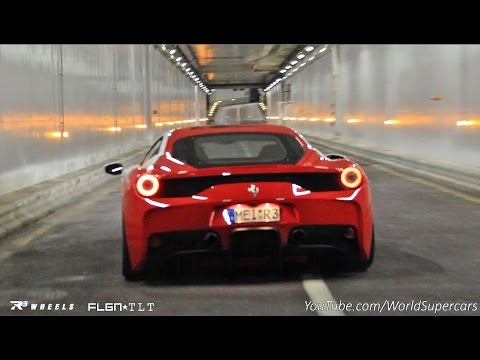 Fi Exhaust Ferrari 458 Speciale KILLER F1 Sound! Louder Than an F1 Car!