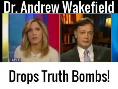 Dr.  Wakefield brilliantly nails this LIVE interview!!!