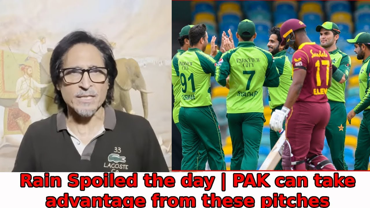 Rain Spoiled the day | PAK can take advantage from these pitches