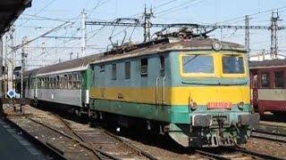 Czech Republic: Olomouc, CD vintage Class 141 electric locos on local passenger trains