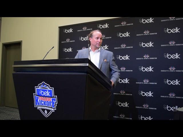Dana Holgorsen Press Conference After Beating Tennessee