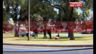 South Australia Police SAPOL Officer Bashing Homeless Men in Adelaide