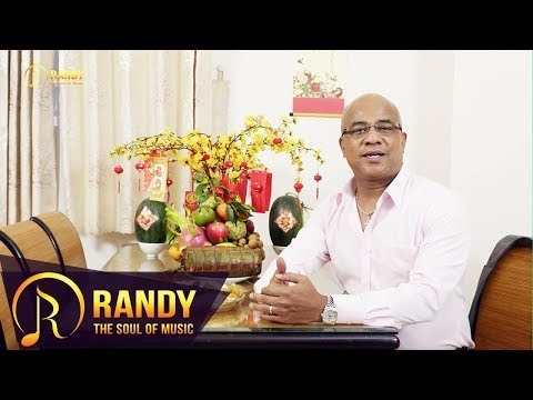 Ca sĩ RANDY gửi lời Cảm Ơn và CHÚC MỪNG NĂM MỚI tới khán giả - Chào Xuân Kỷ Hợi 2019