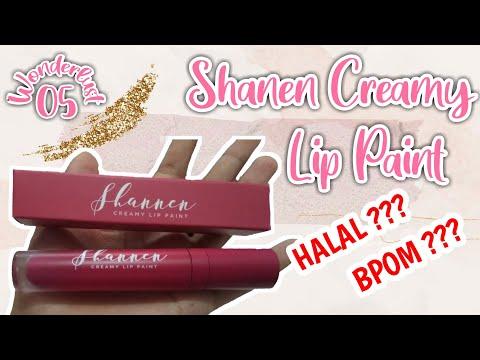 ciri-lipstik-shannen-asli-|-shannen-creamy-lip-paint-05-wonderlust