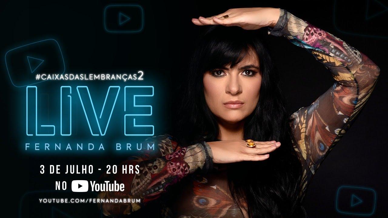 Fernanda Brum - LIVE #2 com convidados #FiqueEmCasa e Cante #Comigo
