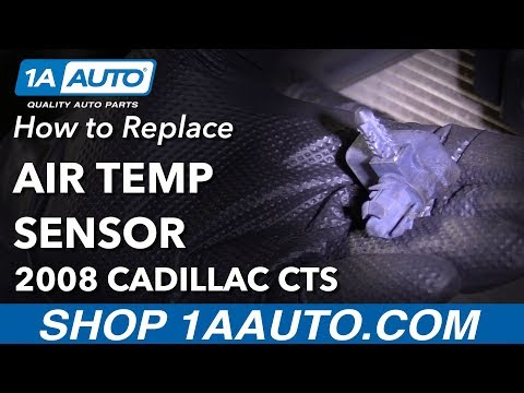 How to Replace Air Temp Sensor 08-14 Cadillac CTS