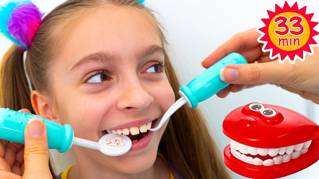 أغنية أطفال عن طبيب الأسنان/ أغنية عن عادات صحية للأطفال من قبل Sunny Kids Songs
