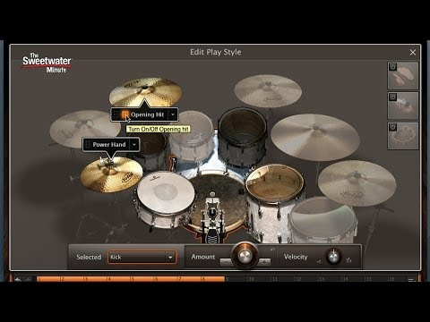 Toontrack EZdrummer 2 Drum Software Demo - Sweetwater Minute Vol. 231