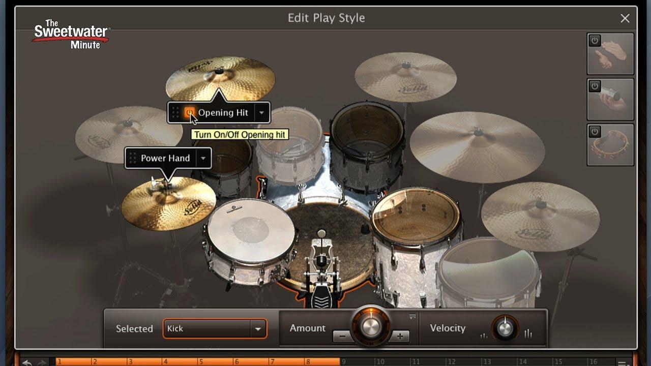 Toontrack EZdrummer 2 Drum Software Demo - Sweetwater Minute Vol ...