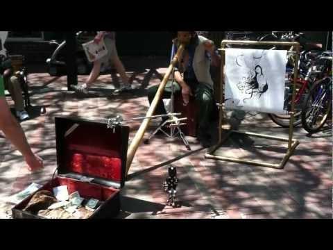 Street music - Church Street, Burlington VT syle.MOV