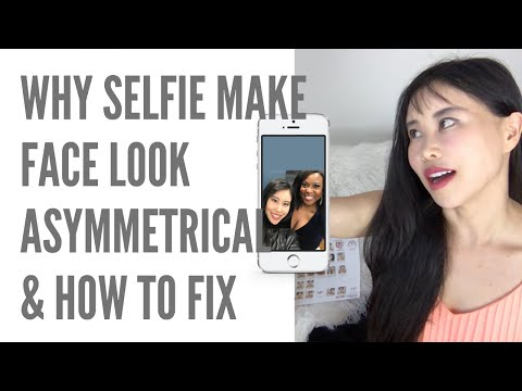 Why selfie makes your face look asymmetrical and distorted | How to fix | How to make you look good