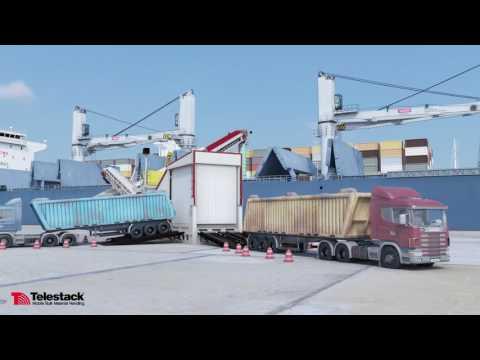 562 Telestack Shiploading Solutions Animation