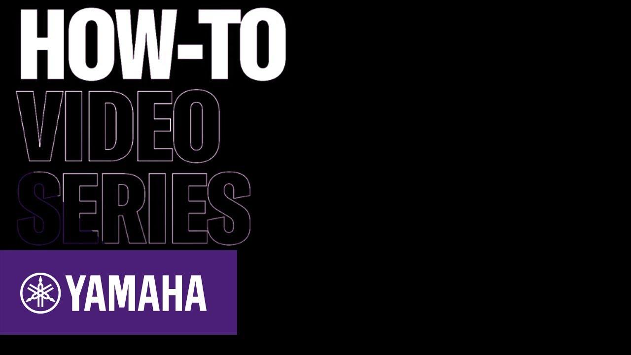 How To Create A Playlist With The Musiccast 50 Av Yamaha Music Youtube